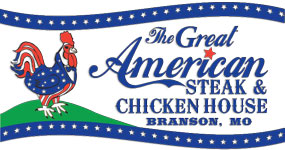 Great American Steak and catfish house branson