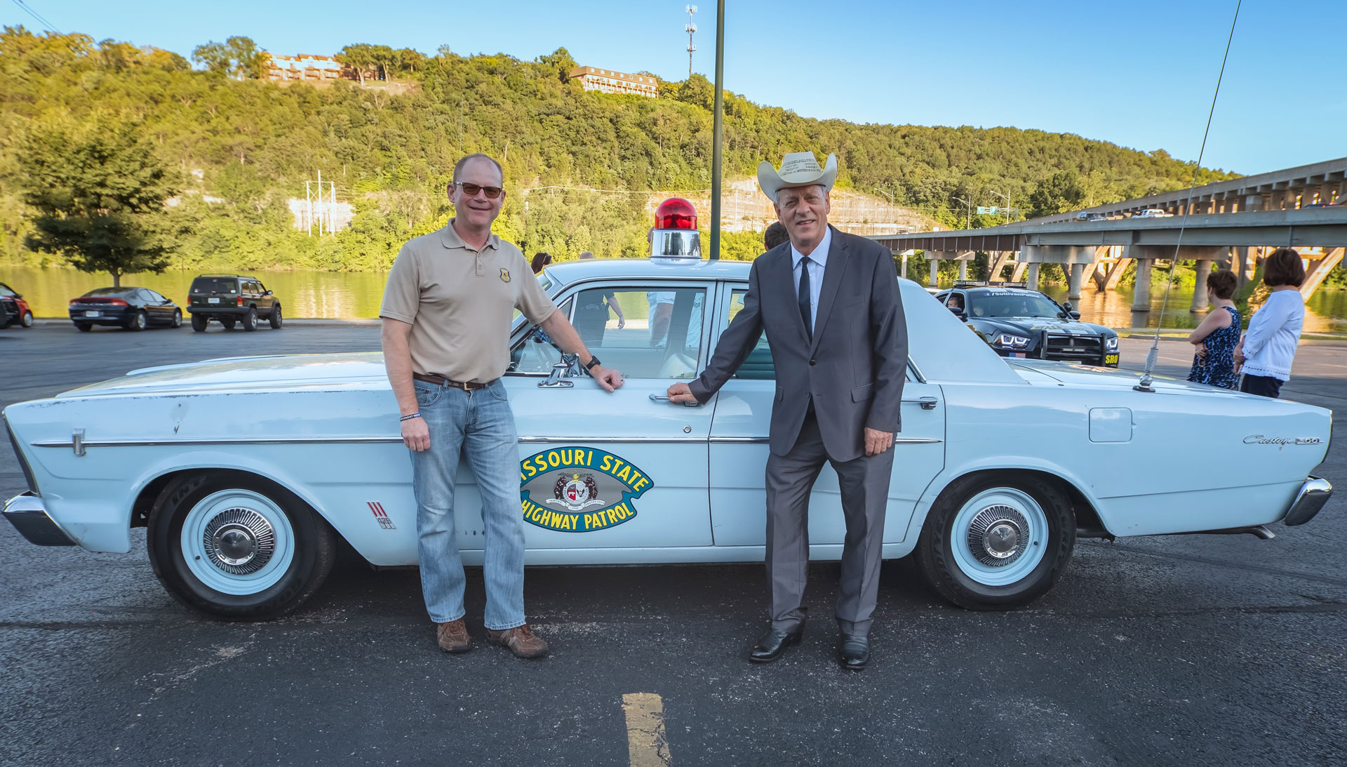 Classic Missouri State Highway Patrol Car